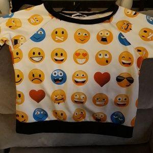 Emoji long sleeve top
